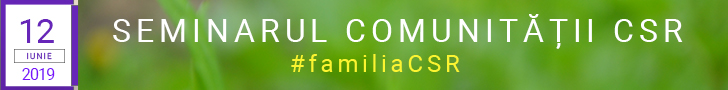 Seminarul Comunitatii CSR - 2019